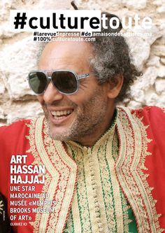 """Culturetoute73  Nous sommes le Jeudi 2 Juin 2016 !  ➡ En couverture, ART, Hassan HAJJAJ une star marocaine au musée """"Mémphis Brooks…"""