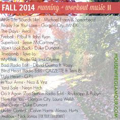 New and upbeat music perfect for your workout or group fitness class!