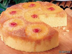 Pineapple Upside Down Cake - Make this classic cake the easy way with our simple cake mix recipe!