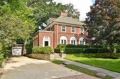 Amazing red brick Colonial #DreamHome