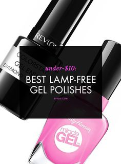 The BEST at-home, lamp-free gel nail polishes