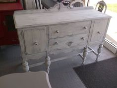 Facebook Friday #6 — American Paint Company**OmG I have this exact #buffet but its missing that back piece..