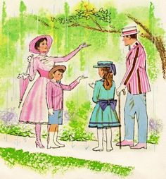 A Vintage Cottage Home: Remembering Mary Poppins on Pink Saturday!