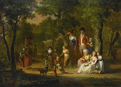 bigg group portrait ofa   conversation piece   sotheby's l16034lot6qb7ben