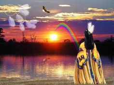 espíritu del arco iris fondo de pantalla