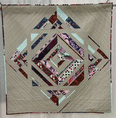 Title: 1, 2, 3 Squared Made and Quilted by Colleen Yarnell
