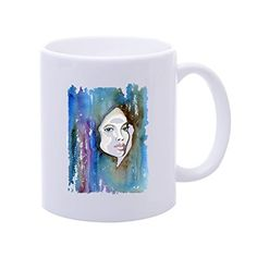 Candow Watercolour Blue Portrait Personalised Coffee Mugs Coffee Mugs Set Plastic Mug Buy Mugs -- Trust me, this is great! Click the image. : Cat mug