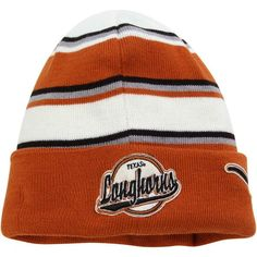 Texas Longhorns New Era Winter Tradition Knit Cuffed Hat – Burnt Orange - $22.99