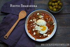 Rustic Shakshuka