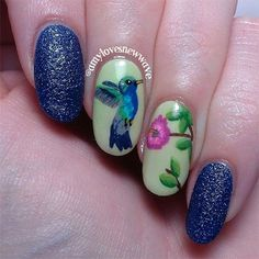 Spring Inspired Nail Art Designs, Ideas & Trends 2014 | Fabulous Nail Art Designs