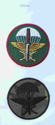 Czechslovakia-Czech-Military-Airborne-Commando-Paratroopers-Cloth-Badges-HWHL