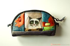 Hey, I found this really awesome Etsy listing at http://www.etsy.com/listing/130245839/grumpy-cat-cattitude-wallet-handmade-and