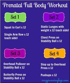 Prenatal Full Body Workout that ANYONE can do