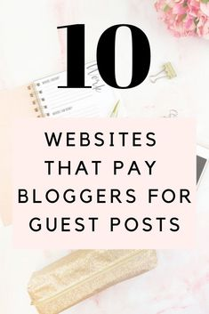 One of the best ways to make money from blogging and create your authority online is by writing paid guests posts. As a blogger, you will be able to find many websites that pay you to write guest posts. To help you out, I have curated the top 10 websites that readily accept guests posts #blogging #blogger #workfromhome #onlinebusiness #guestpost #freelancewriter