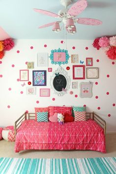 I'm crazy about being able to decorate my Gil's bedroom and these 20+ More Girls Bedroom Decor Ideas are fueling my inspiration & addiction!