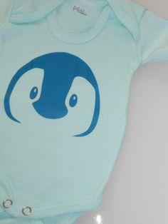 Flockfolie Pinguin