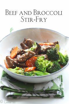 Beef and Broccoli Stir-Fry (paleo, grain free)