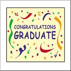 Congratulations Graduate Sign