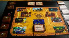 Homemade, print-and-play Curse of Monkey Island board game