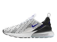d7d44bf2d332 Coussin Dair Officiel Nike Air Max 270 Midnight Chaussures Sportswear Homme  Noir blanc BQ0742-992