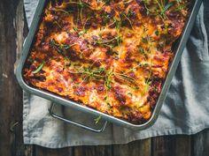Paella, Bon Appetit, Food Inspiration, Vegetarian Recipes, Gluten Free, Vegan, Cooking, Ethnic Recipes, Lasagna
