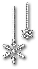 Memory Box TWINKLING SNOWFLAKE DUET Craft Die 99184