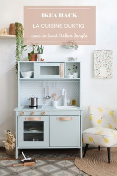 ikea hack comment relooker la cuisine pour enfant duktig diy pinterest cuisine. Black Bedroom Furniture Sets. Home Design Ideas