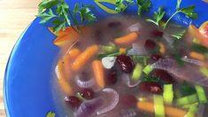 Vegán konzerv bableves 15 perc alatt, szupergyorsan Vegan, Vegetables, Food, Essen, Vegetable Recipes, Meals, Vegans, Yemek, Veggies