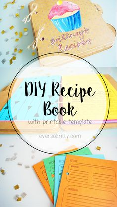 DIY Recipe Book at eversobritty.com