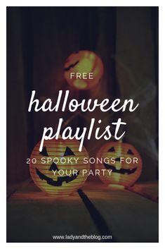 Free Halloween playl