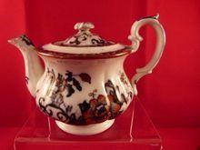 Davenport Children's Teapot 'Nankin' Pattern c. 1850, $195