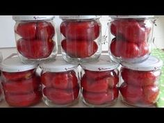Turkish Recipes, Food Preparation, Mason Jars, Food And Drink, Cooking Recipes, Make It Yourself, Canning, Vegetables, Health