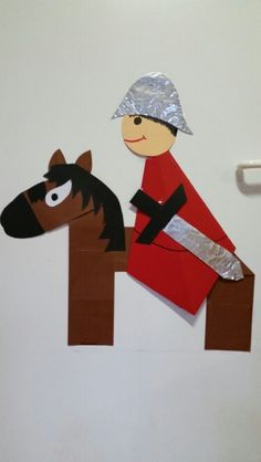 Roi Arthur, Ocelot, Educational Activities, Preschool Crafts, Origami, Saints, Halloween, Techno, Winter