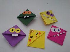 Csináld magad! Origami könyvjelző, vissza a suliba - YouTube