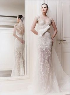 Lace lace and more lace :) Lace wedding dress. LOVE zuhair murad wedding dresses 2012 Original Wedding Gown in Your Color Choice Beautiful. Wedding Dress 2013, Amazing Wedding Dress, Dream Wedding Dresses, Bridal Dresses, Wedding Gowns, Lace Wedding, Mermaid Wedding, Lace Mermaid, Wedding Bride