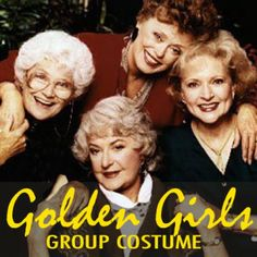 I put together this guide to help you, my fellow Golden Girl Groupies, create a seriously epic costume. Gather up 3 of your best friends and make this thing happen for Halloween.