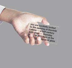graphic design glass card visual identity leo porto new york museum of glass Identity Design, Visual Identity, Identity Branding, Corporate Identity, Brochure Design, Editorial Design, Id Card Design, Typography Design, Lettering