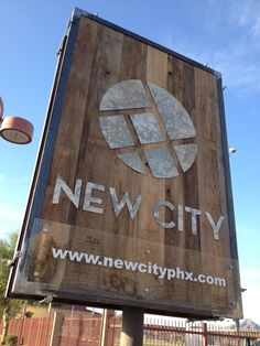 Newspring Cedar Sign Signage Church And Signs