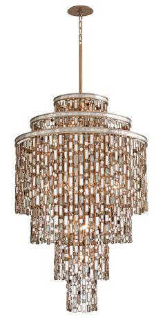 Corbett Lighting 142-719 Dolcetti Transitional Crystal Pendant Light CB-142-719  sc 1 st  Pinterest & Corbett Lighting 86-61 Roma Single Light 13