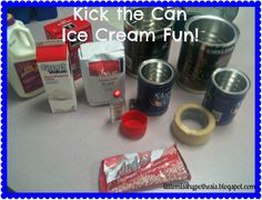 Little Miss Hypothesis - Lessons from the Science Lab! Fun with Force and Motion... Kick the Can Ice Cream Fun!