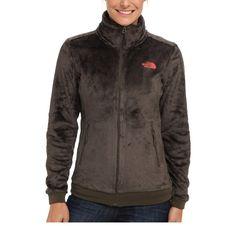 THE NORTH FACE Sale Women's Mod Osito Fleece Jacket Winter Coat Taupe Green XS S #TheNorthFace #FleeceJacket