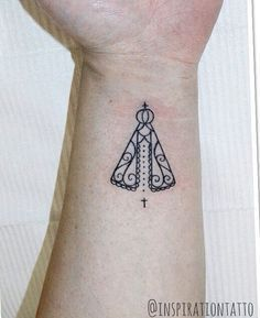 tatuagem de nossa senhora aparecida feminina - Pesquisa Google