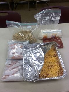 (Taking) Freezer Meals / Ministry Meals in Minutes