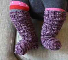 Ravelry: Vauvan sukka pattern by Kerttu Latvala
