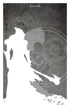 Grenth: God of Death and Ice  11 x 17 Print on Matte Paper    Physical print will arrive unframed, unmatted, and without watermark.  Printed on sturdy