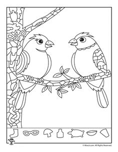 Hidden Picture Puzzle -Love Birds Hidden Picture Puzzle - Koala Hidden Picture Puzzle Page Giraffes in Love Hidden Picture Activity Hearts and Roses Find the Item Puzzle Berry Birthday Cupcake Hidden Picture School of Fish Hidden Picture Printable Hidden Pictures, Bird Pictures, Hidden Picture Puzzles, Sudoku, Bird Graphic, Hidden Objects, Wonderful Picture, Picture Collection, Love Birds
