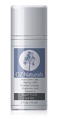 OZ naturals eye gell eye cream #darkcircle #treatment #beauty #eyes #eyecare #face #tips #skincare #cosmetics Top 10 Best Eye Creams for Dark Circles In 2015 Reviews