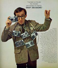 Vintage Lens Lust - Woody Allen in Playboy, May 1966