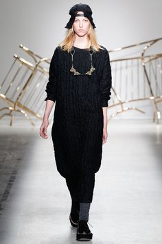 Julien David Fall 2014 Ready-to-Wear Collection Slideshow on Style.com