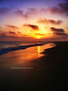 Sunset at Albufeira, Portugal. Salgados beach. Edited photo with several effects.